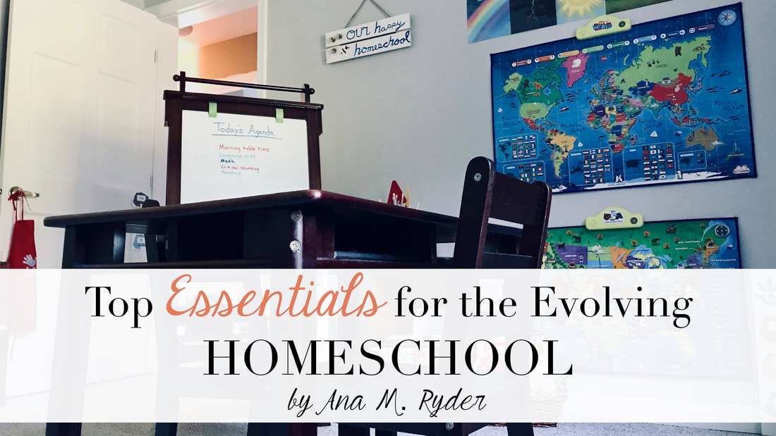 Top Essentials for the Evolving Homeschool